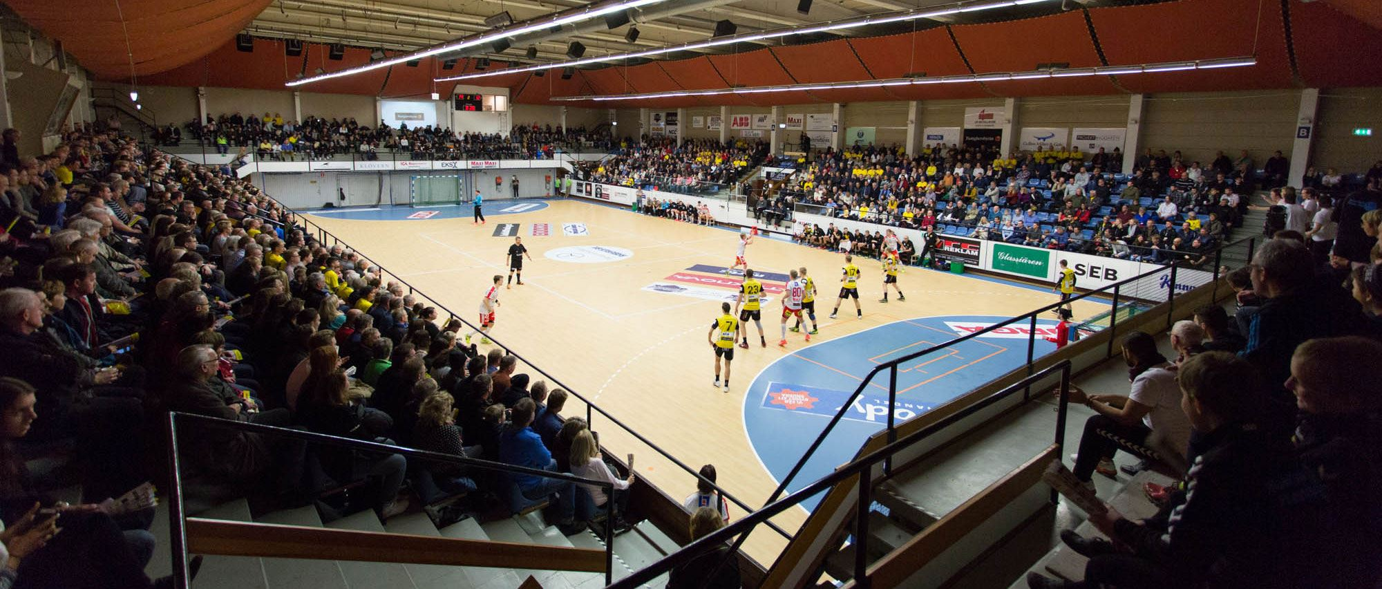 Elitserie game in handball - HiF Karlskrona - Richo HK