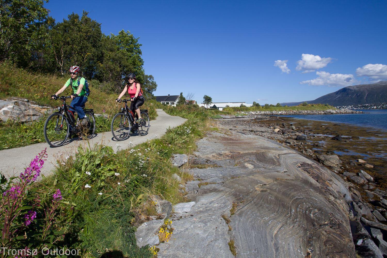 Utforsk Tromsø på El-sykkel - Tromsø Outdoor