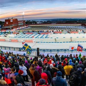 Foto: Biathlon Östersund,  © Copy: Biathlon Östersund, Premiär Världscupen Skidskytte 2021