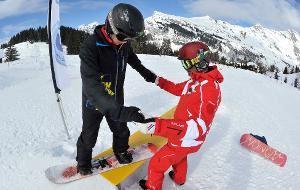 Stage de snowboard 6 après-midi à partir de 8 ans (Les Menuires uniquement)