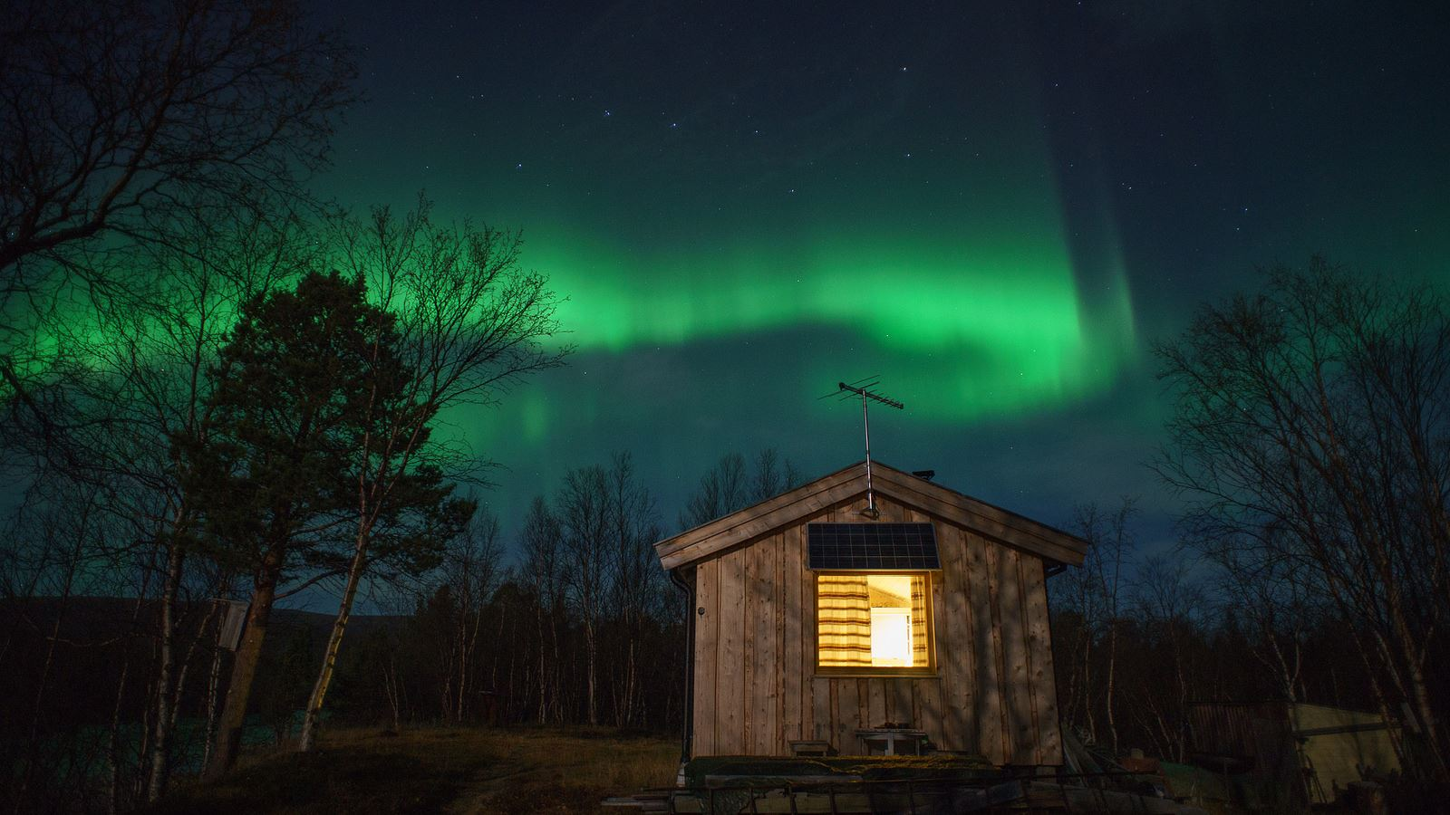Polar Northern Lights chase from Tromsø in a small group – Polar Adventures