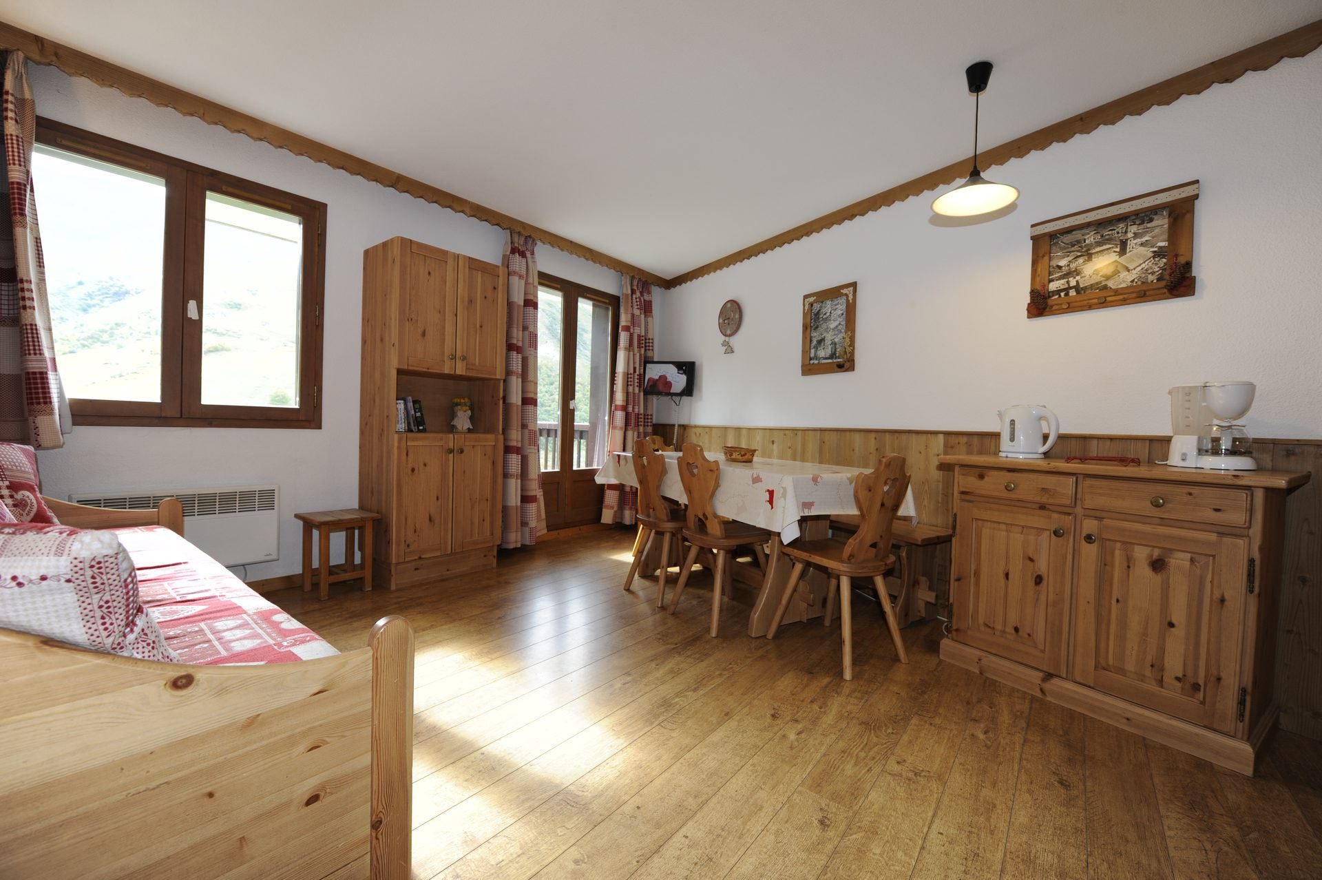 2 Pièces cabine 6 Pers skis aux pieds / BALCONS D'OLYMPIE 1072