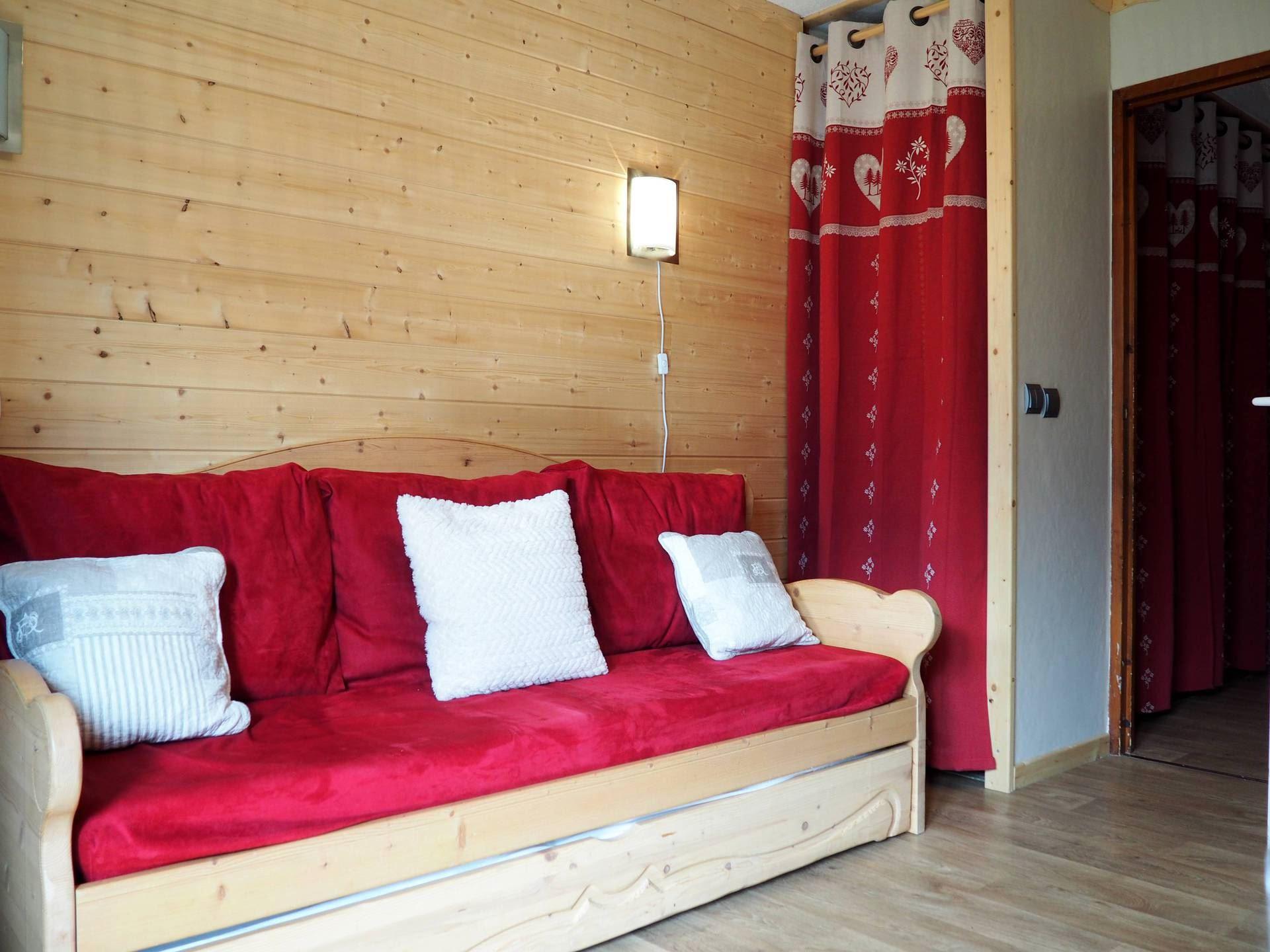 4 Pers Studio ski-in ski-out / BALCONS D'OLYMPIE 407