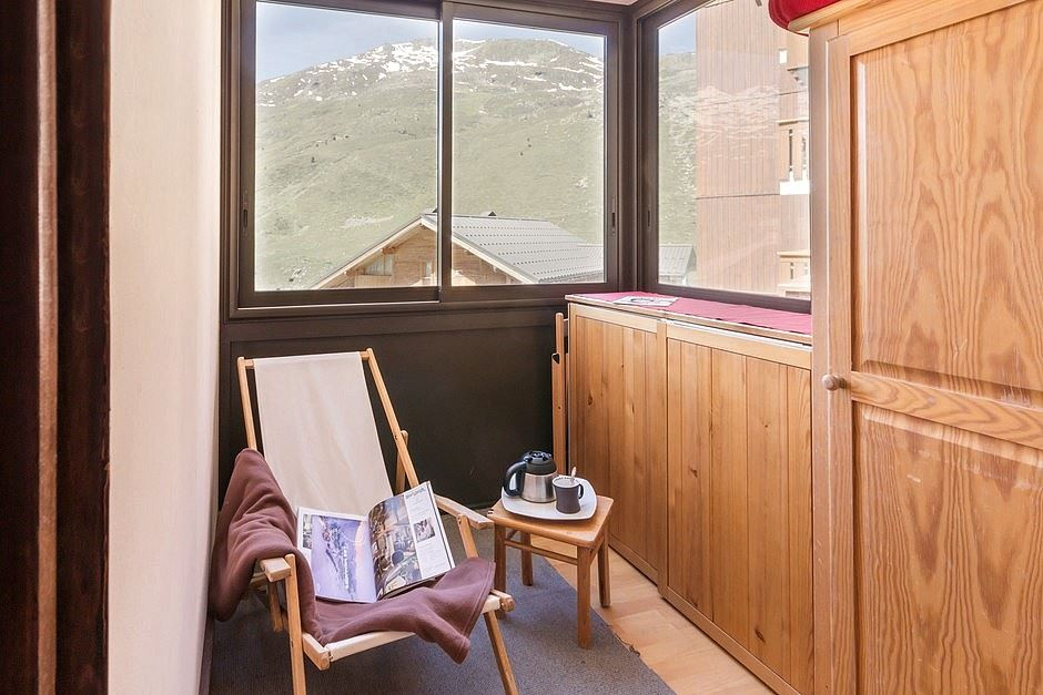 2 rooms 5 Pers ski-in ski-out / SKI SOLEIL 1111