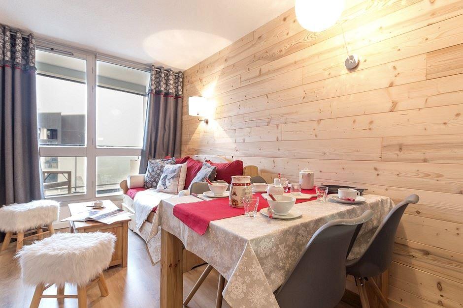 2 Rooms 4 pers ski-in ski-out / SOLDANELLES A 204