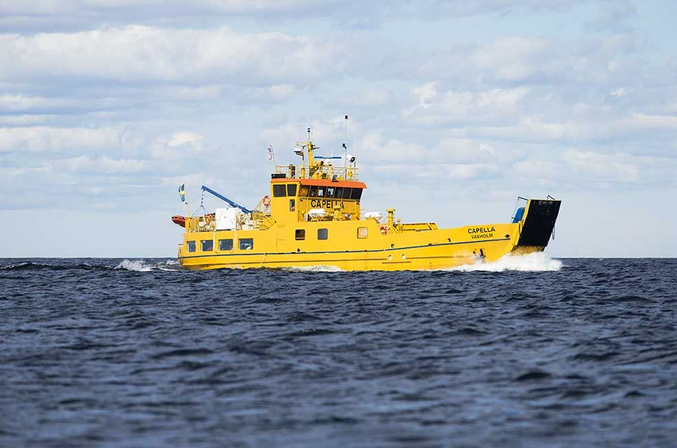 Kasper Dudzik,  © Kasper Dudzik, Trafikverket, Ferry to the island Holmön