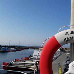 Vejbystrands guest harbor