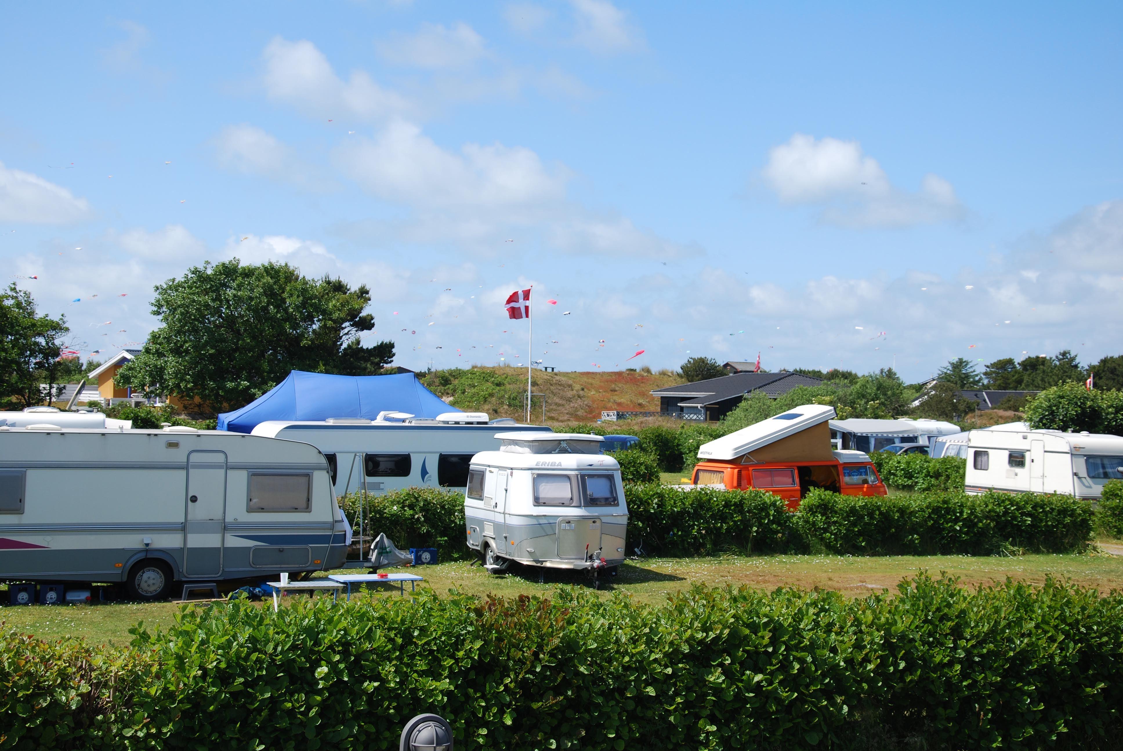 Campingpakke på Fanø