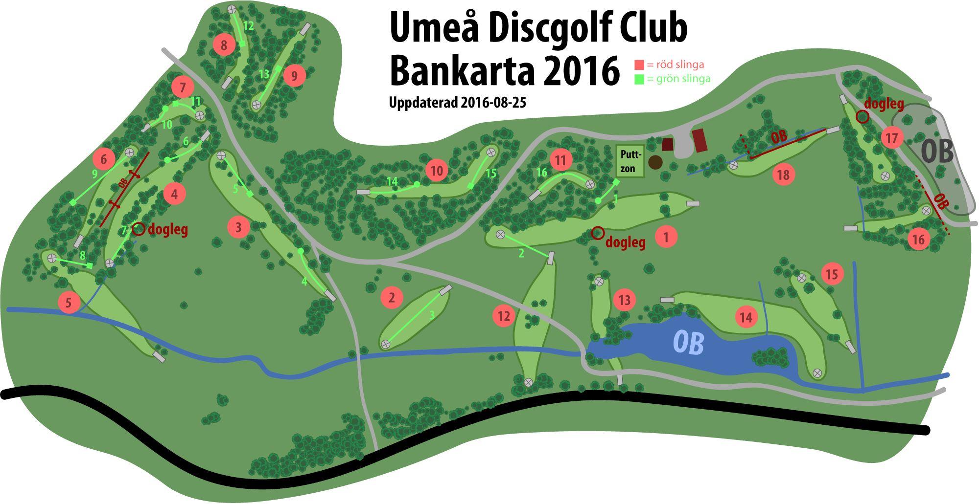 Play disc golf