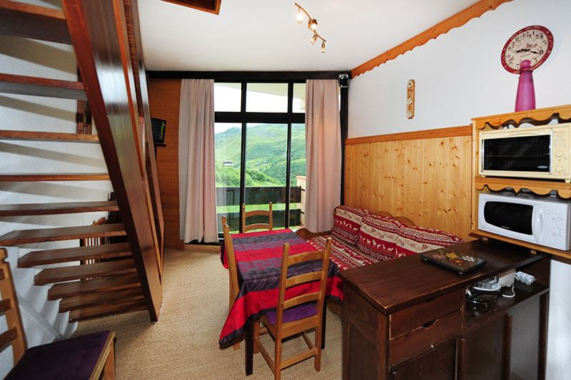 2 Rooms 6 Pers ski-in ski-out / CARON 1416