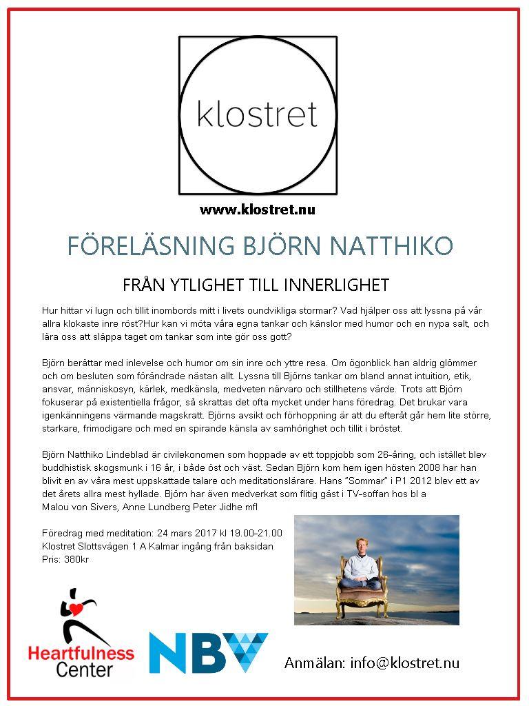 Björn Natthiko - Från ytlighet till Innerlighet