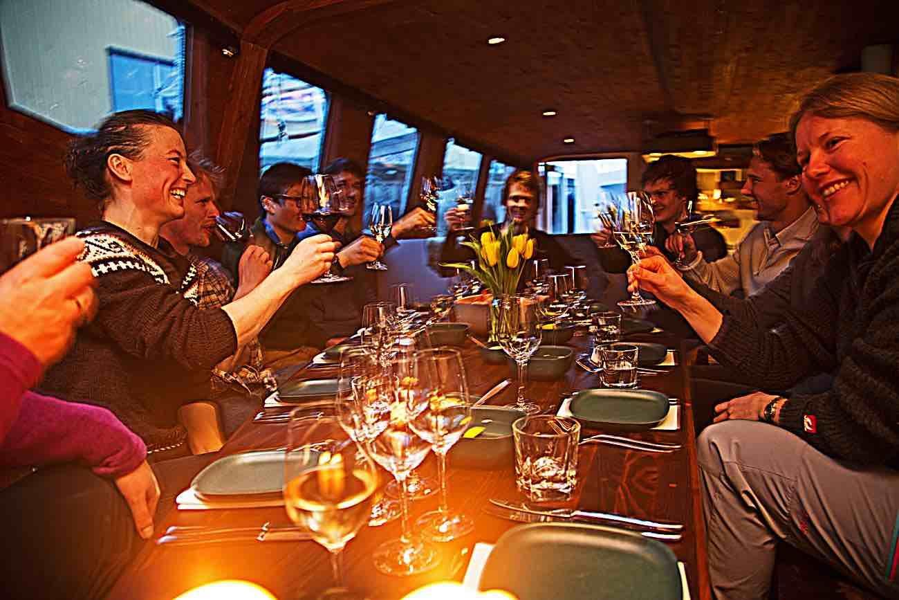 Vulkana,  © Vulkana, New years eve celebration on board the Vulkana - Vulkana Drift