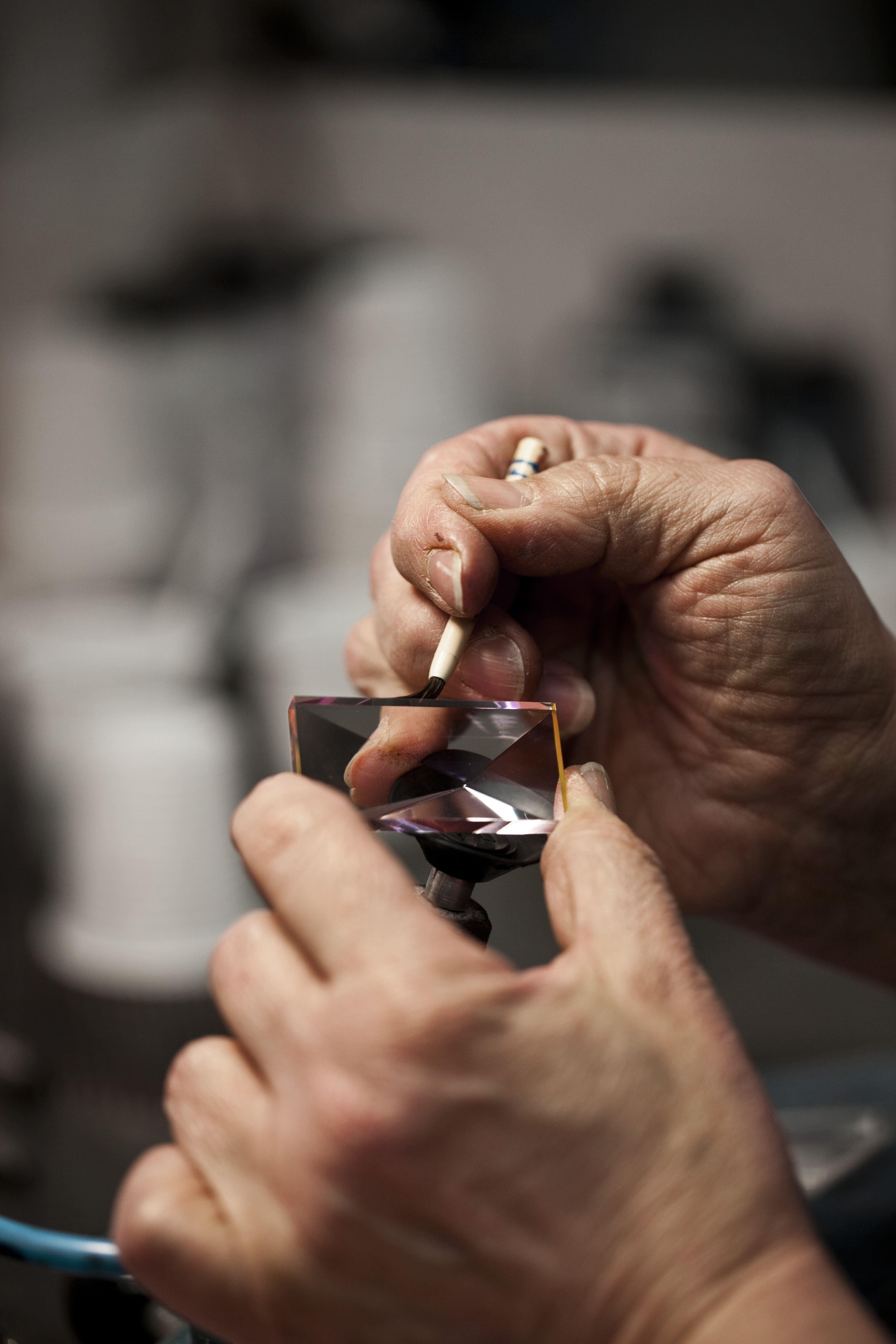Workshop på Målerås glasbruk