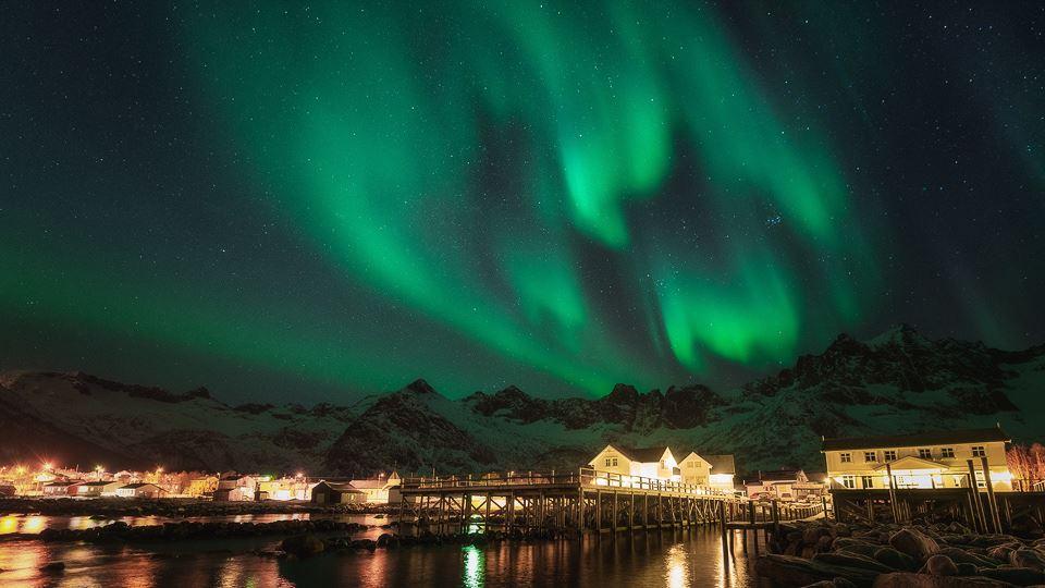 Nordlyspakke - Mefjord Brygge