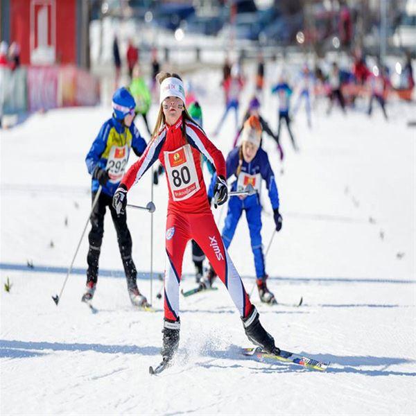 Foto: Nordiska Ungdomsspelen,  © Copy: Nordiska Ungdomsspelen, Skidåkare