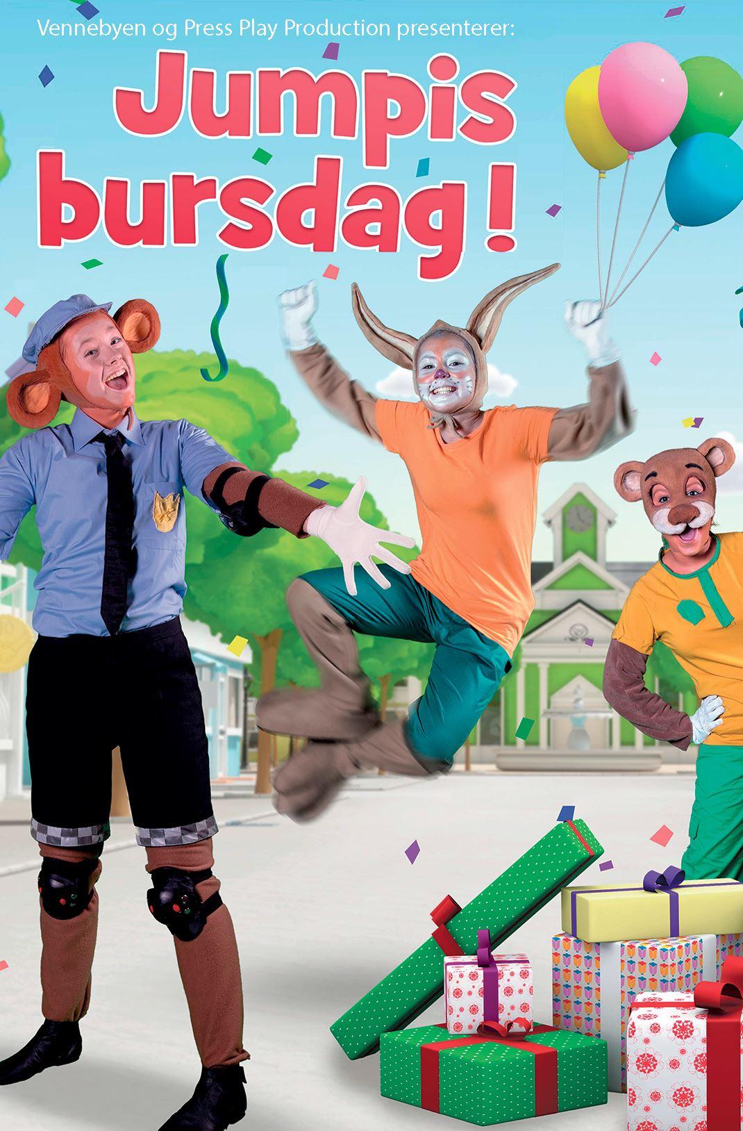Vennebyen – Jumpis Bursdag!