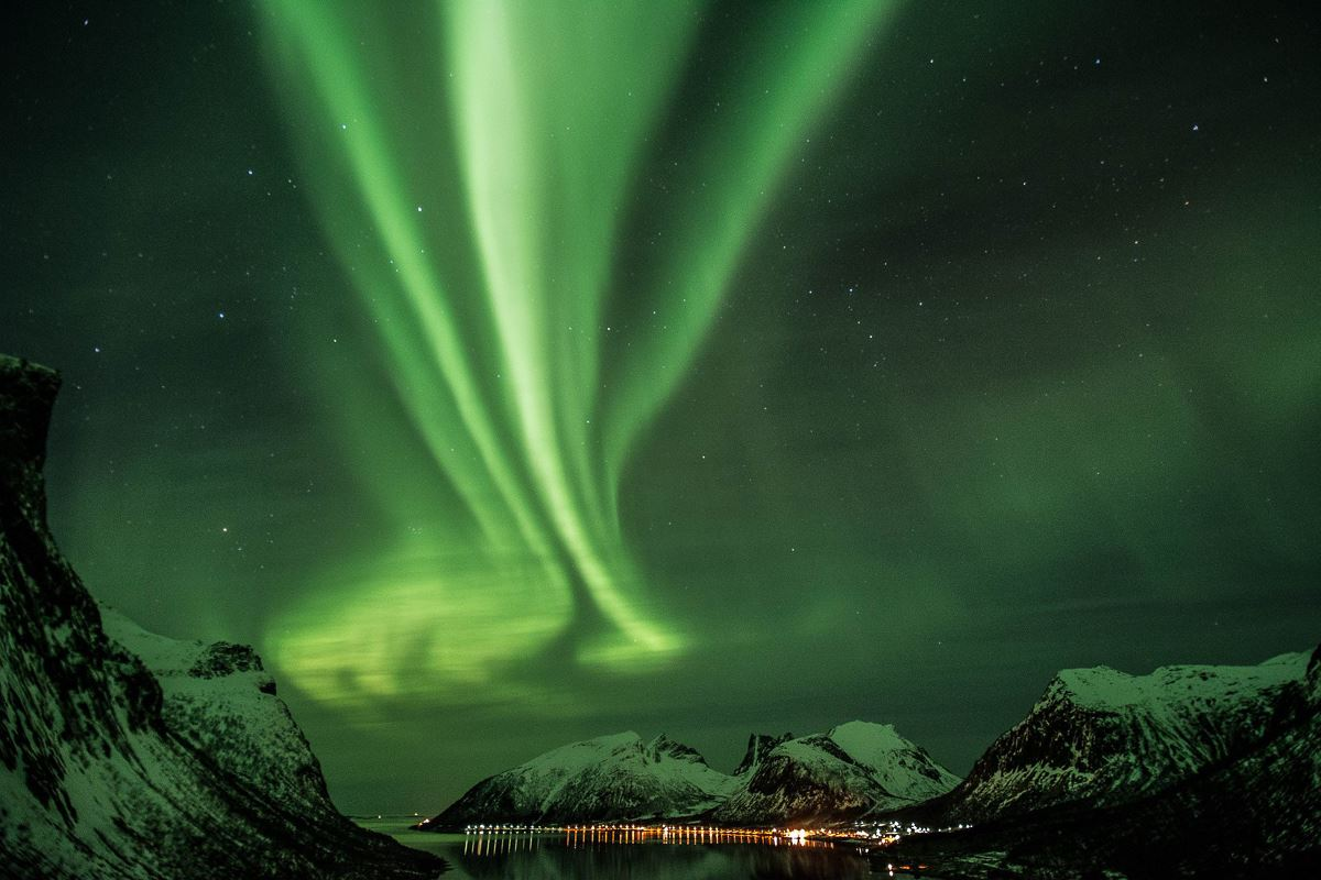The northern lights - Hamn i Senja