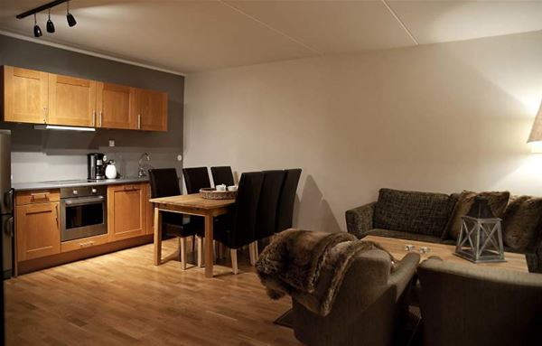 Hovdestøylen - leiligheter og hotellrom