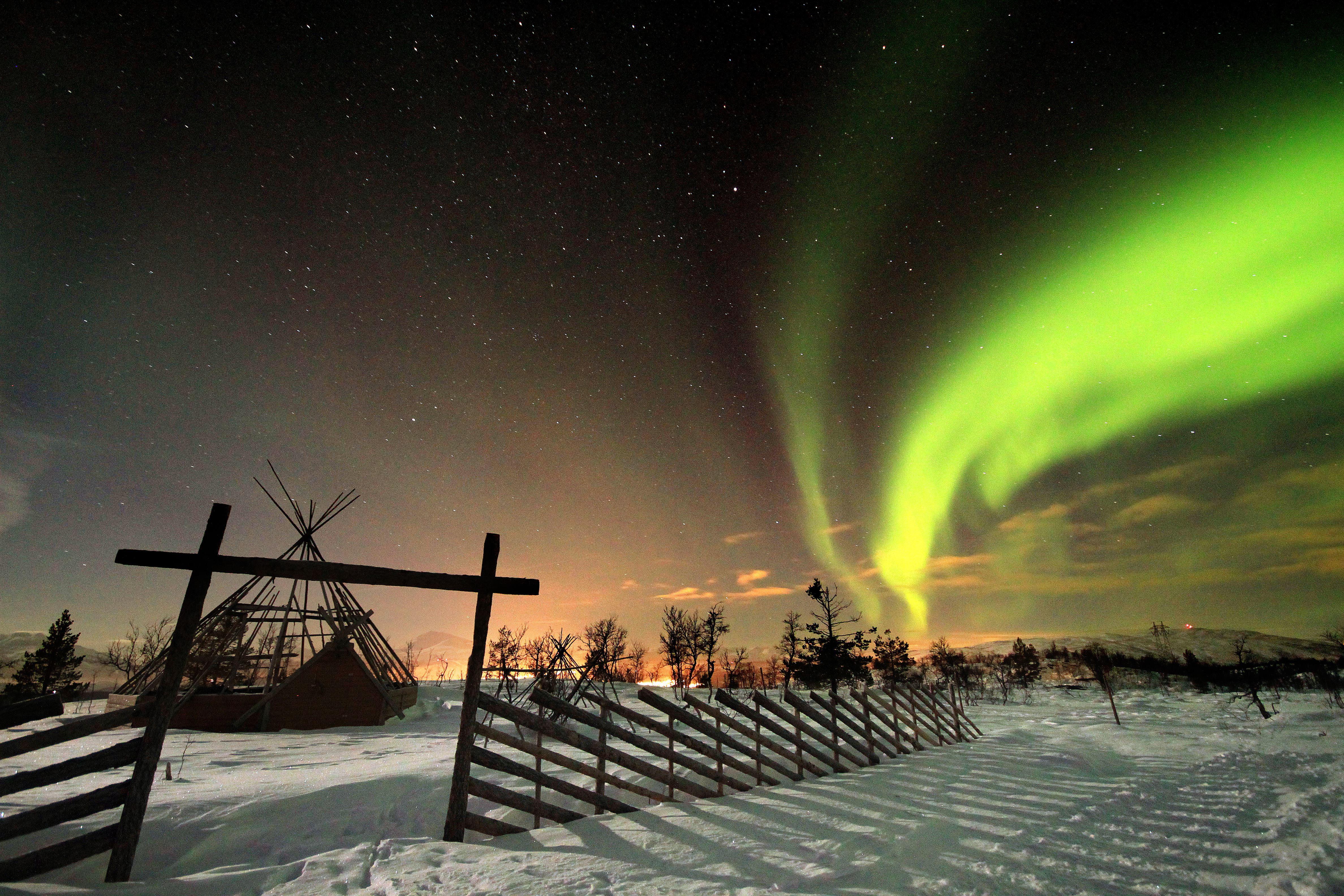 Snowman – Aurora høydepunkt Fra Tromsø – Destination Snowman