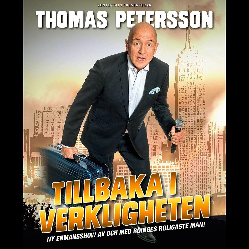 Thomas Petersson - tillbaka till verkligheten