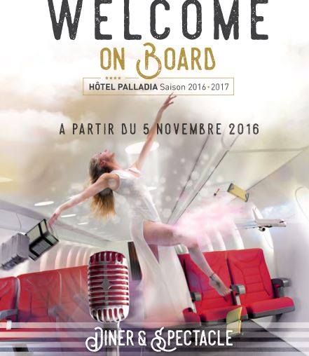 "Spectacle ""Welcome on Board"""