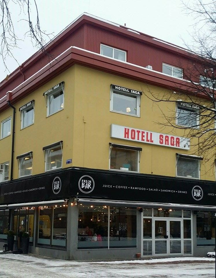 Lavaretia Hotell Saga