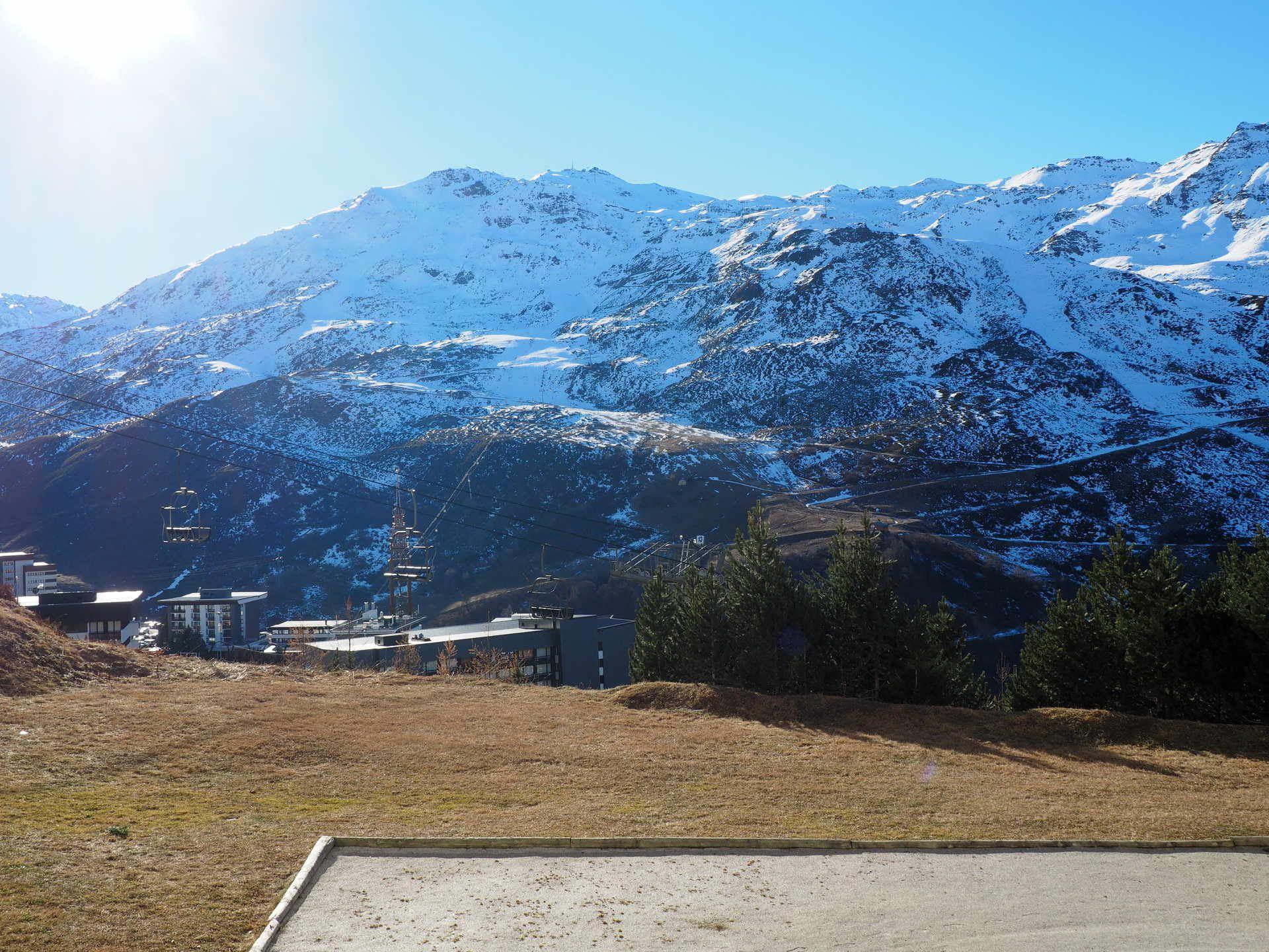 Studio 3 people ski in ski out / TOUGNETTE 215