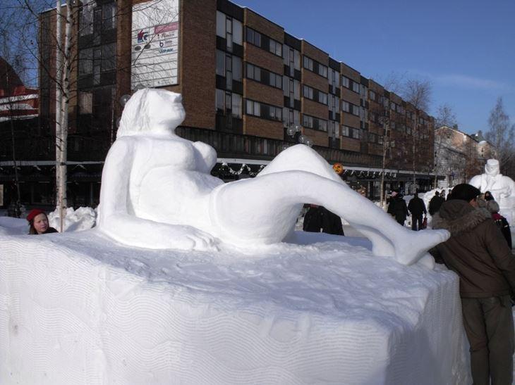 Umeåmästerskapen i snöskulptur 2017