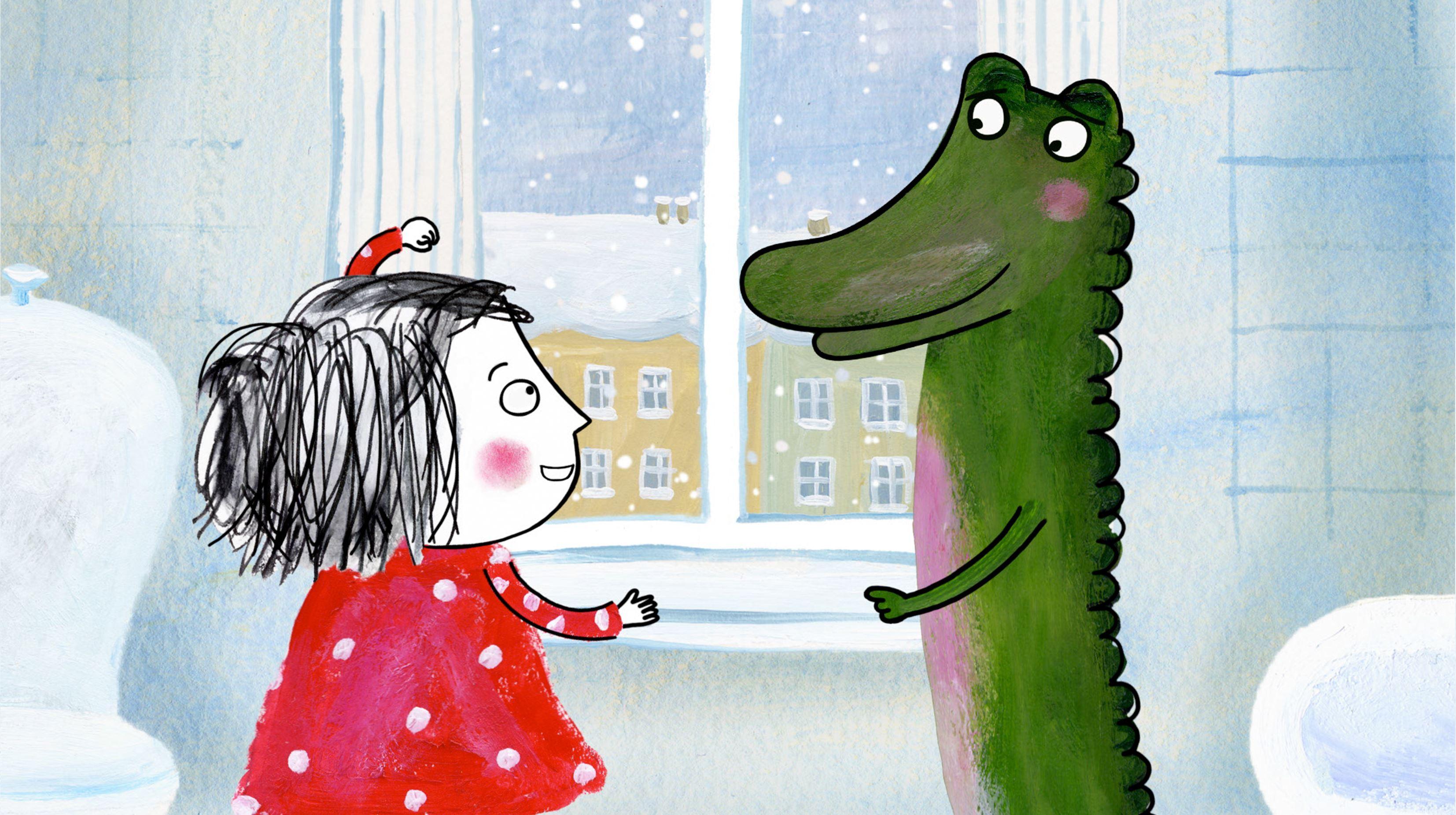 Barnbio Rita och Krokodil