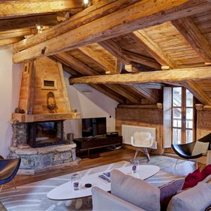 5 rooms 8 people / CHALET MAISON DU PRAZ (mountain of dream) / Tranquillity Booking