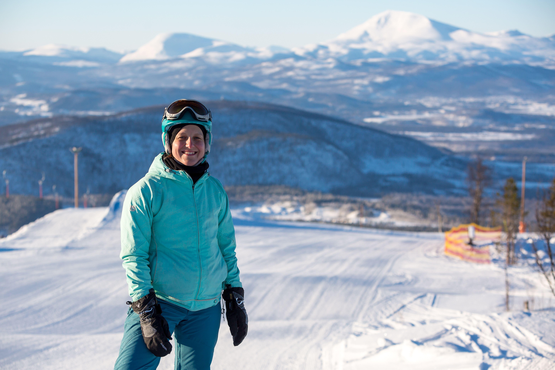 Aurora Downhill skiing - Målselv Mountain Village