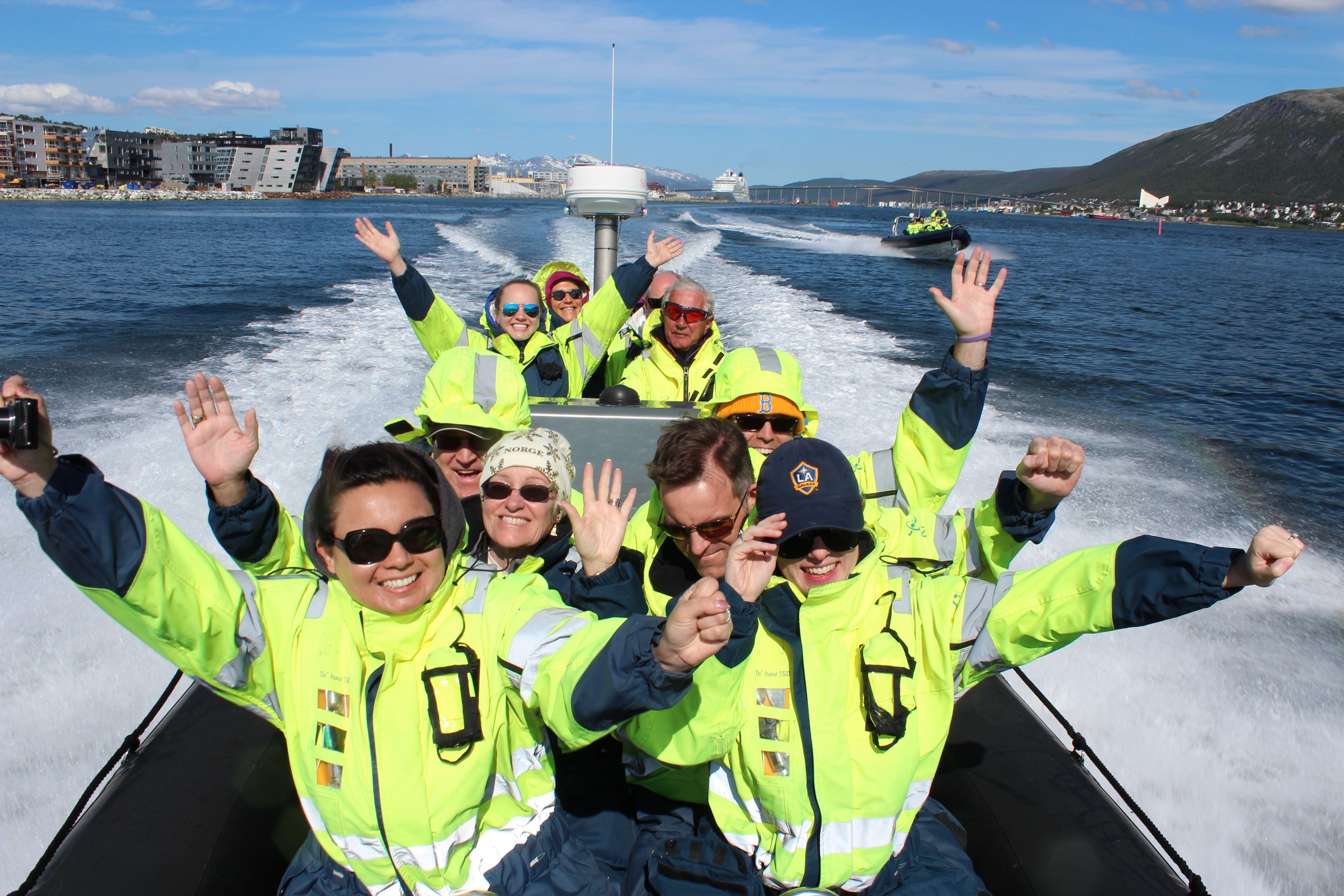 Havfugler, sel og museums besøk inkludert RIB-båt tur – Sommer - Tromsø Friluftsenter