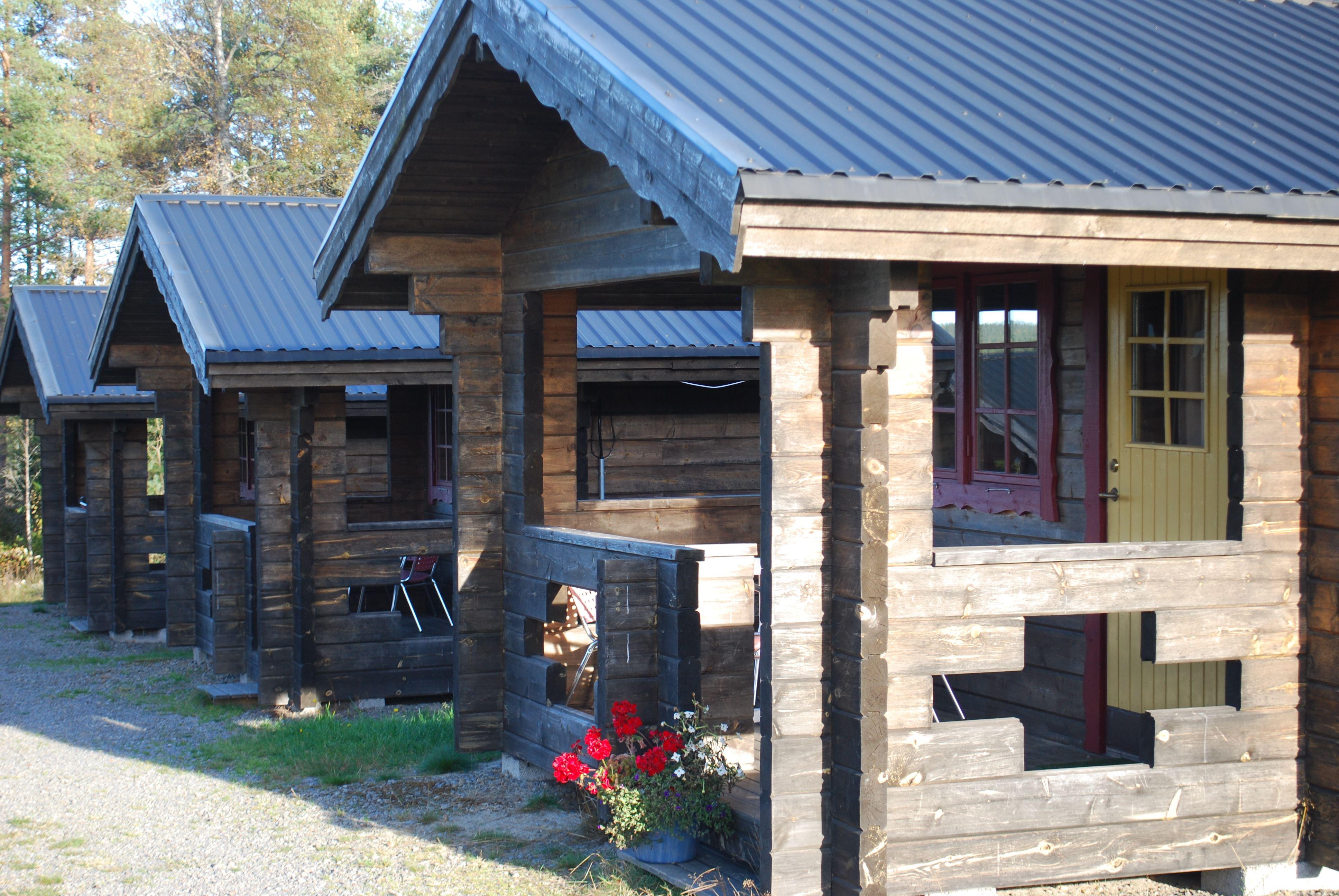 Självhushållsstuga (4 bäddar, 15 m², WC/dusch)