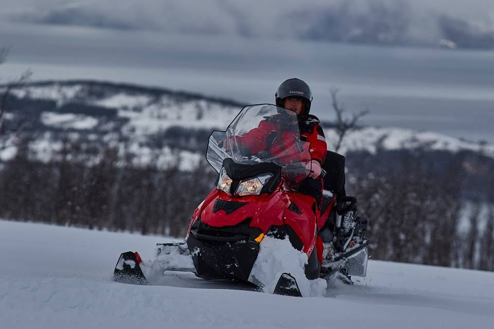 Snowmobile Soft Expedition - Aurora Alps