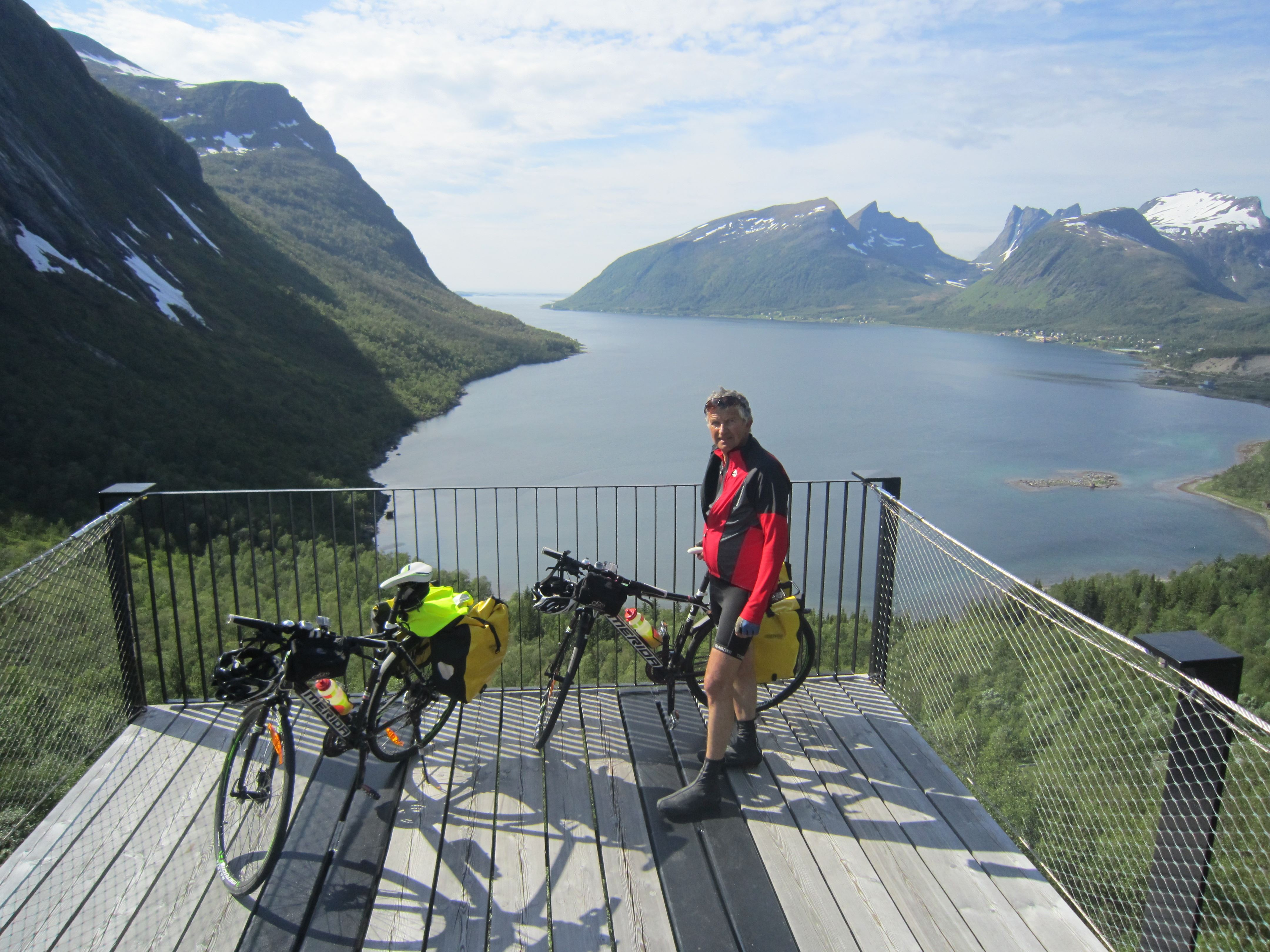 Britt Elton, Biking the Island of Senja – 8 days - Selfguided or guided with luggagetransport - Discover Norway