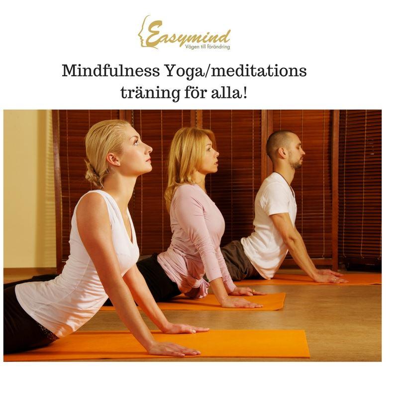 Mindfulness Yoga & meditationsträning passar alla!