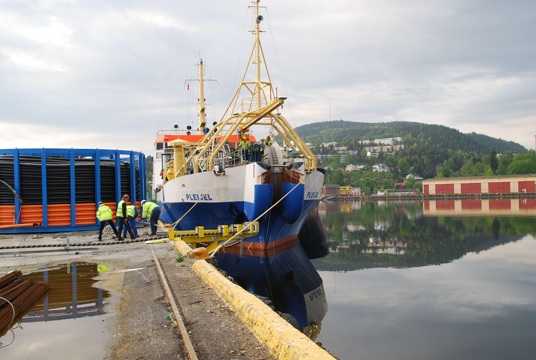 Öppen föreläsning på Sjöfartshögskolan: Så går det till att lägga kablar till sjöss