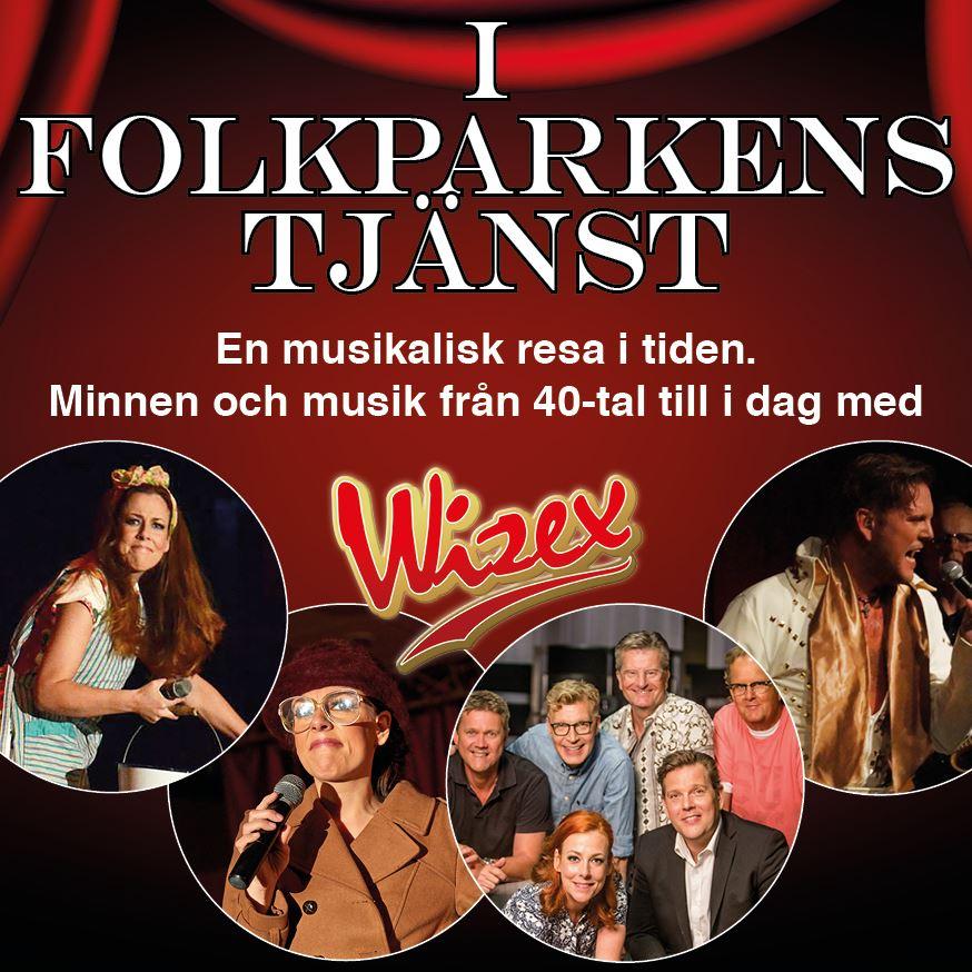 Dansband: I Folkparkens tjänst - Wisex
