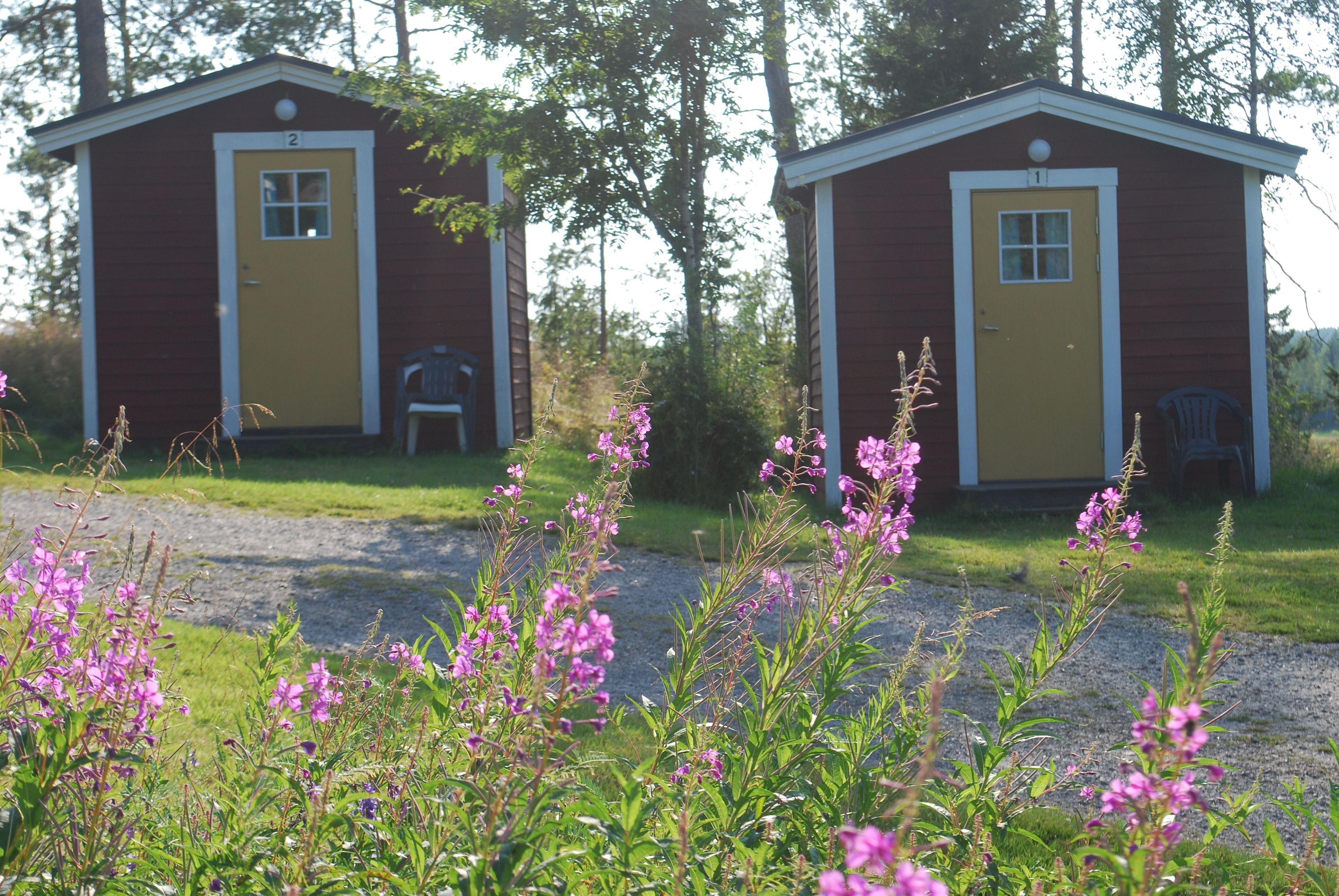 Campingstuga (2 bäddar, 8 m², ej WC/dusch)
