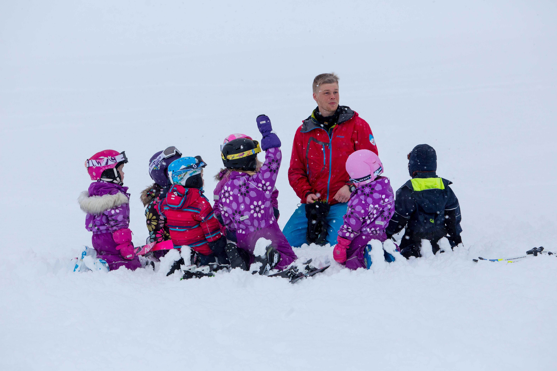 Skiskule for born - Myrkdalen Barnefestival