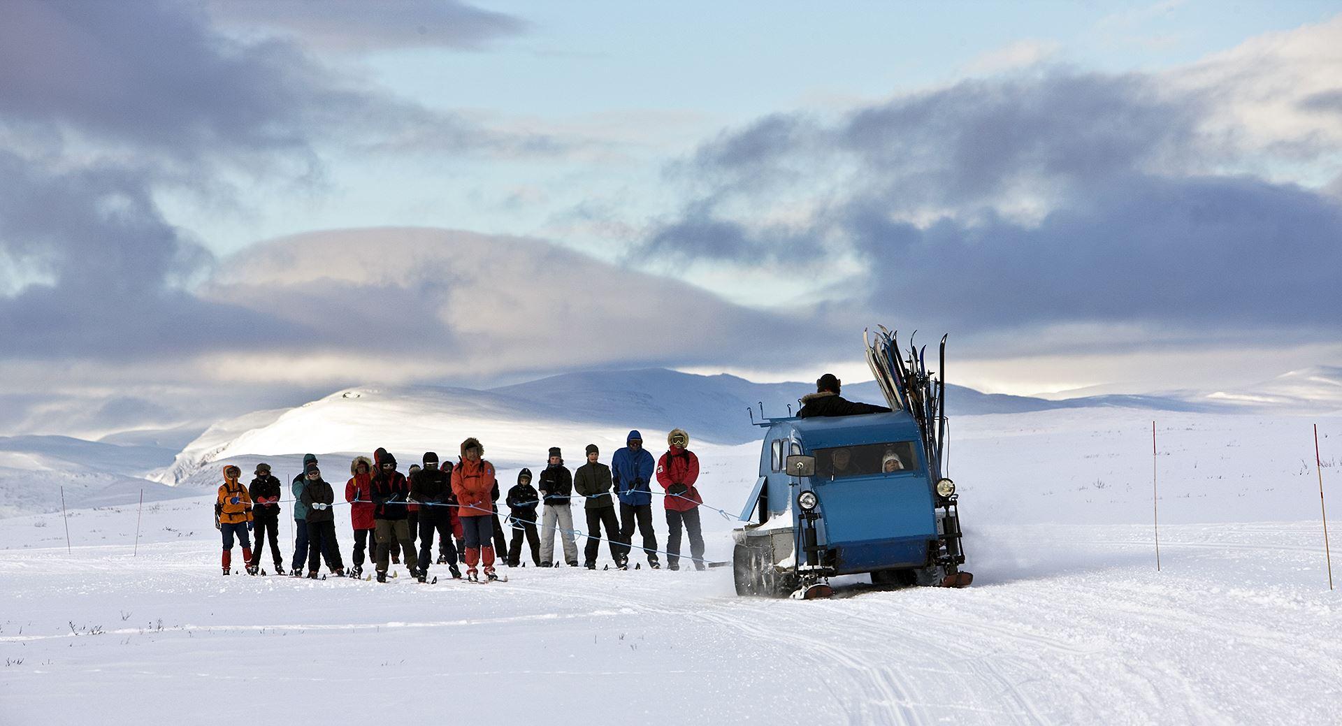 På ski fra fjellstue til fjellstue i Rondane