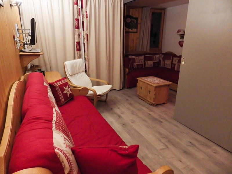 4 Pers Studio ski-in ski-out / CHANTENEIGE 604