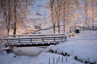 Vinter vid Västanåfallet