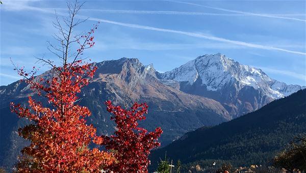 3 pièces 5 personnes / APPARTEMENT EDELWEISS (montagne de charme) / Séjour Sérénité