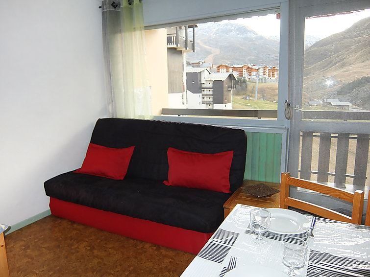 4 Pers Studio + Cabin 50m from the slopes / ASTERS B2 722