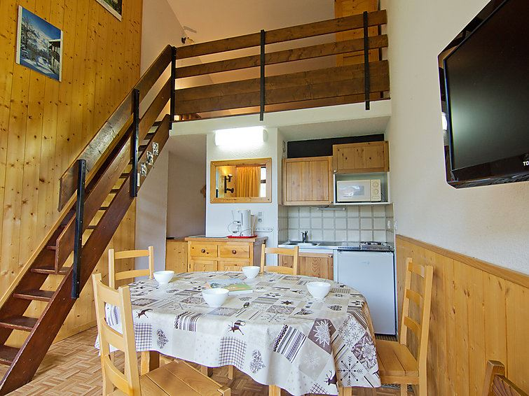 2 Room + Cabin 6 Pers ski-in ski-out / ASTERS B4 1203
