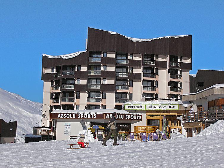 3 Pers Studio ski-in ski-out / GENEPI 18