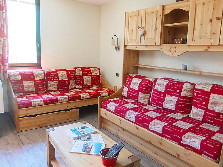 2 Room 5 Pers ski-in ski-out / ORIGANES 522