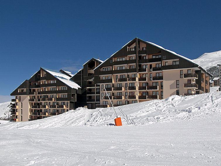 4 Pers Studio + Cabin ski-in ski-out / SARVAN 424