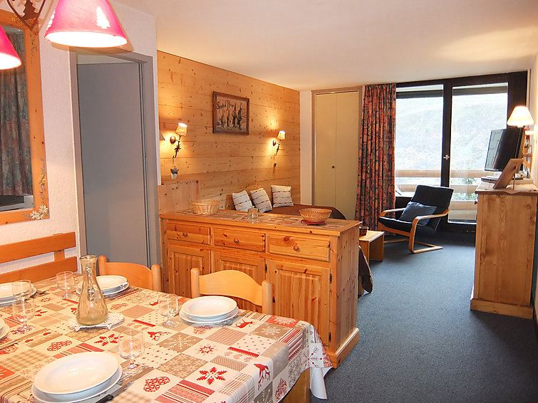 2 Room 5 Pers ski-in ski-out / CHANTENEIGE 505